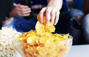 Most people can't stop at eating just one chip. A new study explains that there ...
