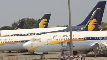 WATCH | Emotional moment when the last Jet Airways flight left airport as airlin...