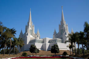 San Diego California Temple of the Church of Jesus Christ, USA