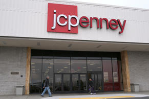 People walk by a JCPenney store on Feb. 28, 2013 in Daly City, Calif.