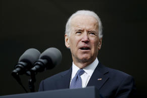 Vice President Joe Biden in Boston, March 30 2015