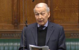 Labour MP Frank Field voted with Theresa May's Government angering his own party...