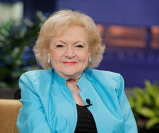 THE TONIGHT SHOW WITH JAY LENO -- Episode 4478 -- Pictured: Actress Betty White ...