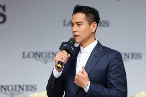 Actor Eddie Peng Yuyan attends the Longines event on September 22, 2017 in Sheny...