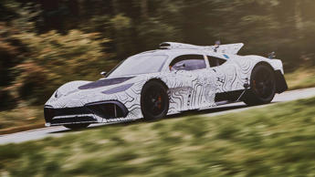 Merecdes-AMG Project One prototype undergoing road testing