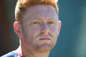 Jonny Bairstow was the stand-out performer for England with a classy 98 in Barba...