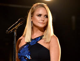Miranda Lambert performs onstage during the 52nd annual CMA Awards at the Bridge...